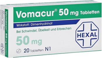 Vomacur 50 mg Filmtabletten (20 Stk.)