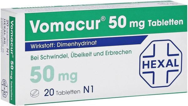 Hexal VOMACUR Tabletten