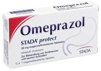 STADA Omeprazol STADA protect 20 mg magensaftr.Tabletten 7 St