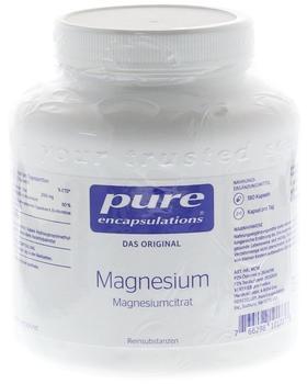 Pure Encapsulations Magnesium Magnesiumcitr.kps. 180 Stk.
