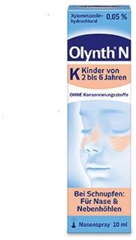Johnson & Johnson GmbH (OTC) OLYNTH 0.05% f Kinder Nasendosierspray 10 ml