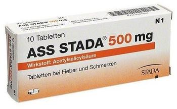 Ladival ASS STADA 500mg Tabletten 10 St.