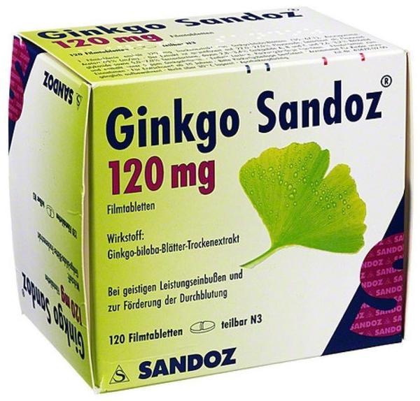 Hexal GINKGO SANDOZ 120 mg Filmtabletten