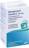 Zentiva Pharma GmbH OMEPRAZOL Zentiva 20 mg bei Sodbrennen