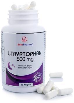 ZeinPharma L-Tryptophan 500 mg Kapseln (90 Stk.)