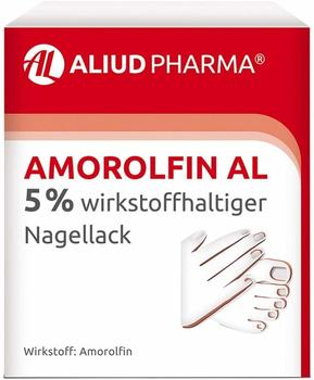 Aliud Amorolfin AL 5 % wirkstoffhaltiger Nagellack 5 ml