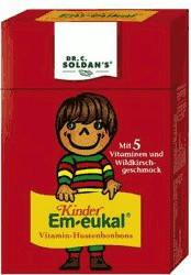 Soldan Kinder Em-eukal Minis Pocketbox Wildkirsche zuckerhaltig (40 g)