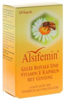 Alsitan Alsifemin Gelée Royal und Vitamin E mit Ginseng (120 Stk.)
