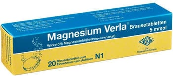 Magnesium Verla Brausetabletten (20 Stk.)