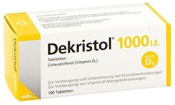 Dekristol 1000 I.E. Tabletten (100 Stk.)