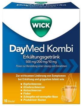 Procter & Gamble WICK DayMed Kombi Erkältungsgetränk 10 St