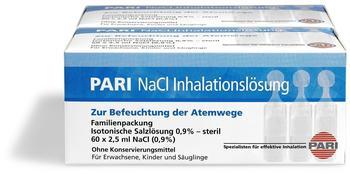 Pari NaCl Inhalationslösung Ampullen (120x2,5ml)