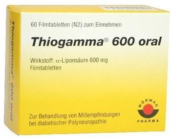 Wörwag Pharma THIOGAMMA 600 ORAL