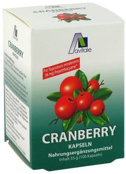 Avitale Cranberry Kapseln 400 mg (100 Stk.)