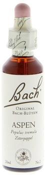 Nelsons Bachblüten Aspen Tropfen (20 ml)