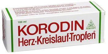 Robugen GmbH Pharmazeutische Fabrik KORODIN HERZ KREISLAUF Tropfen 100 ml