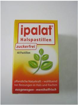 Ipalat Halspastillen Zuckerfrei (40 Stk.)