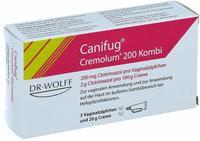 Linola CANIFUG Cremolum 200 3 V.Supp.+20gCr. Kombipackung 1 P