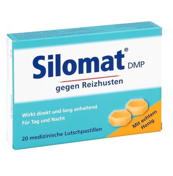 Boehringer Ingelheim SILOMAT DMP gegen Reizhusten mit Honig Pastillen 20 St