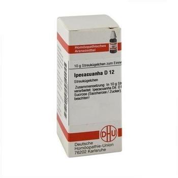 DHU Ipecacuanha D 12 Globuli (10 g)
