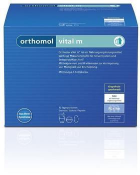 Orthomol Vital F Orange Kombipackung Granulat & Kapseln (15 Stk.)