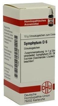 DHU Symphytum D 6 Globuli (10 g)