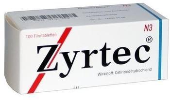 Zyrtec Filmtabletten (100 Stk.)