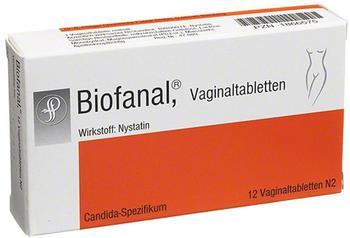 Dr Pfleger Arzneimittel GmbH BIOFANAL Vaginaltabletten 12 St.