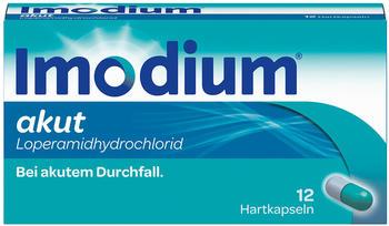 Imodium Akut Kapseln (12 Stk.)