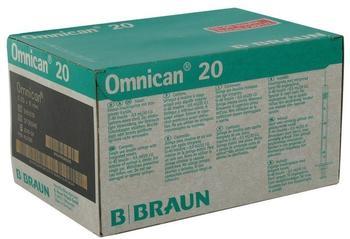B. Braun Omnican 20 0,5 ml Ins.Spr.M.Kan.0,30 x 8 mm (100 Stk.)