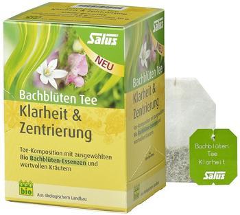 Salus Pharma BACHBLÜTEN Tee Klarheit & Zentrierung (15 Stk.)