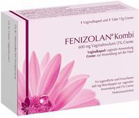 Exeltis Germany GmbH FENIZOLAN Kombi 600 mg Vaginalovulum+2% Creme