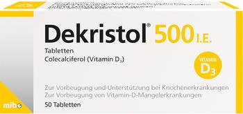 Dekristol 500 I.E. Tabletten (50 Stk.)