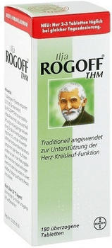 Ilja Rogoff THM überzogene Tabletten (180 Stk.)