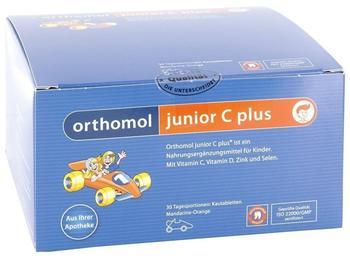 Orthomol Junior C Plus Kautabletten Mandarine/Orange (30 Stk.)