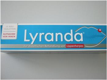Weber & Weber Lyranda Kautabletten (15 Stk.)
