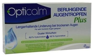 Omega Pharma Deutschland GmbH Opticalm Beruhigende Augentropfen Plus 10x0,5 ml