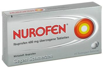 Nurofen Ibuprofen 400 mg überzogene Tabletten (24 Stk.)