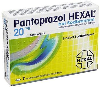 Hexal PANTOPRAZOL HEXAL b.Sodbrennen magensaftres.Tabl. 7 St