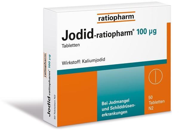 Jodid 100 µg Tabletten (50 Stk.)