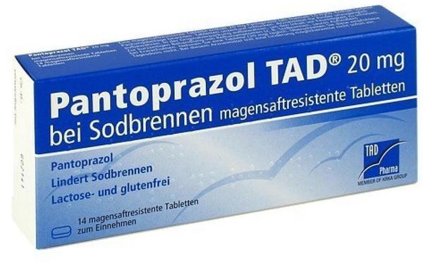 Pantoprazol TAD