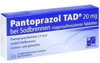 TAD Pharma PANTOPRAZOL TAD 20 mg b.Sodbrenn. magensaftr.Tabl. 7 St.