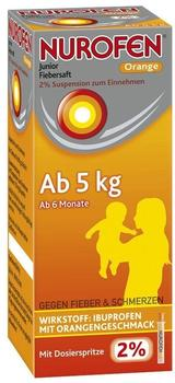 Nurofen Junior Fiebersaft Orange 2 % (100 ml)