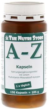Hirundo Products A - Z Multivitamin Mineralstoff Kapseln (150 Stk.)