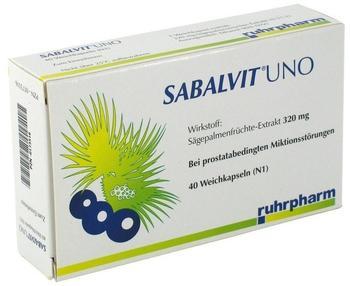 Sabalvit Uno Kapseln (40 Stück)