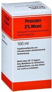 Medphano Arzneimittel GmbH Procain Röwo 2% Maxi Injektionsflaschen 100 ml