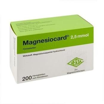 Magnesiocard 2,5 mmol Tabletten (200 Stk.)
