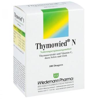 Wiedemann Thymowied N Dragees (100 Stk.)