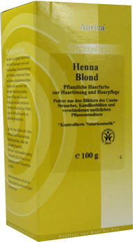 Aurica Henna Blond Pulver (100 g)