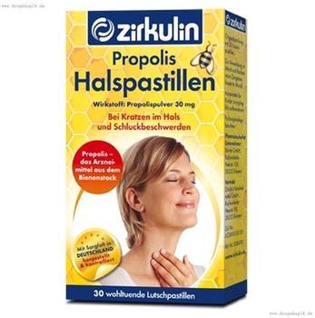 Roha Arzneimittel GmbH Zirkulin Propolis Halspastillen